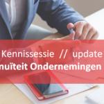 VERVALT | Kennissessie | Update Wet Continuïteit Ondernemingen II (WCO II)